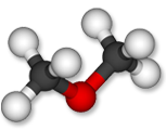 Dimethyl ether (DME) is an organic compound with the formula CH3OCH3